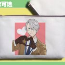 Yuri!! on Ice Viktor Nikiforov Pencil Case Mobile Phone Pen Bag Pouch Coin Purse