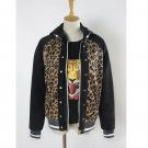 Yuri!!! on Ice Plisetsky Yuri Cosplay Costume Leopard Coat Jacket Outfit Daily