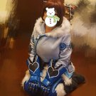 Free Shipping Overwatch Mei cosplay costume Halloween Christmas Event
