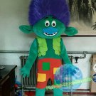 Free Shipping Branch Trolls Mascot Costume for Birthday Party Halloween and Events