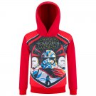 Free Shipping Star Wars Stormtrooper Red hoodie pullover birthday present gift