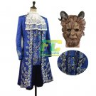 Free Shipping 2017 movie Beauty and Beast Prince Adam Cosplay costume
