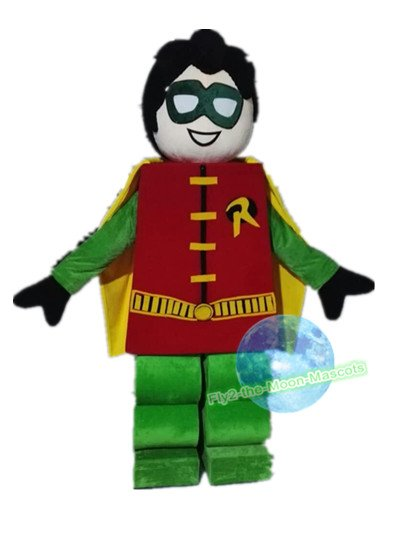 Free Shipping Lego Robin mascot costume for Birthday Party and Wedding Halloween Christmas