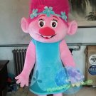 Free Shipping Poppy Trolls Mascot Costume for Birthday Party Halloween and Events