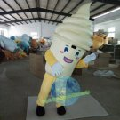 Free Shipping ice cream cone Mascot costume for promotion 2nd