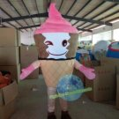 Free Shipping ice cream cone Mascot costume for promotion 5th