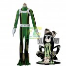 Free Shipping Asui Tsuyu My Hero Academia Boku no Hero Academia fighting Cosplay Costume Suit