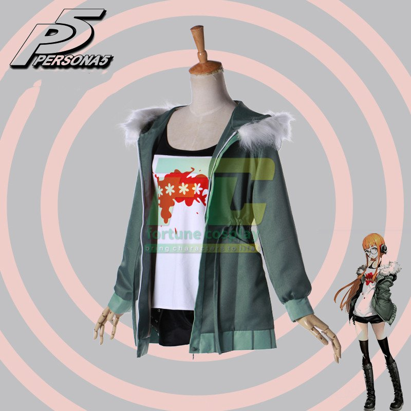 Free Shipping Persona 5 Futaba Sakura Cosplay Costume