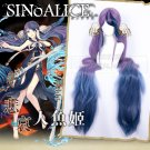 Free Shipping  SINoALICE The Little Mermaid Cosplay Wig