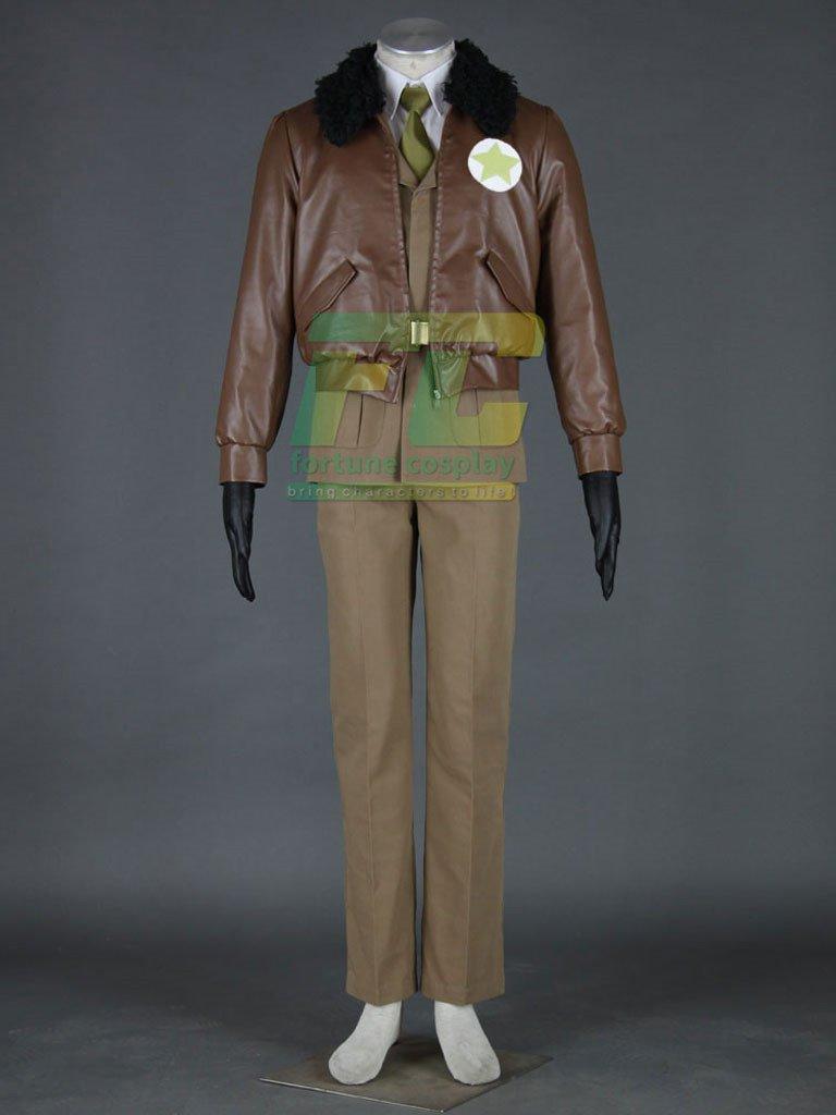 Free Shipping Athemis America Army Uniforms Axis Powers Hetalia APH Cosplay Costumes