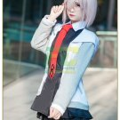 Free Shipping Fate Grand Order First Order Cosplay Mash Kyrielight Shielder Costume