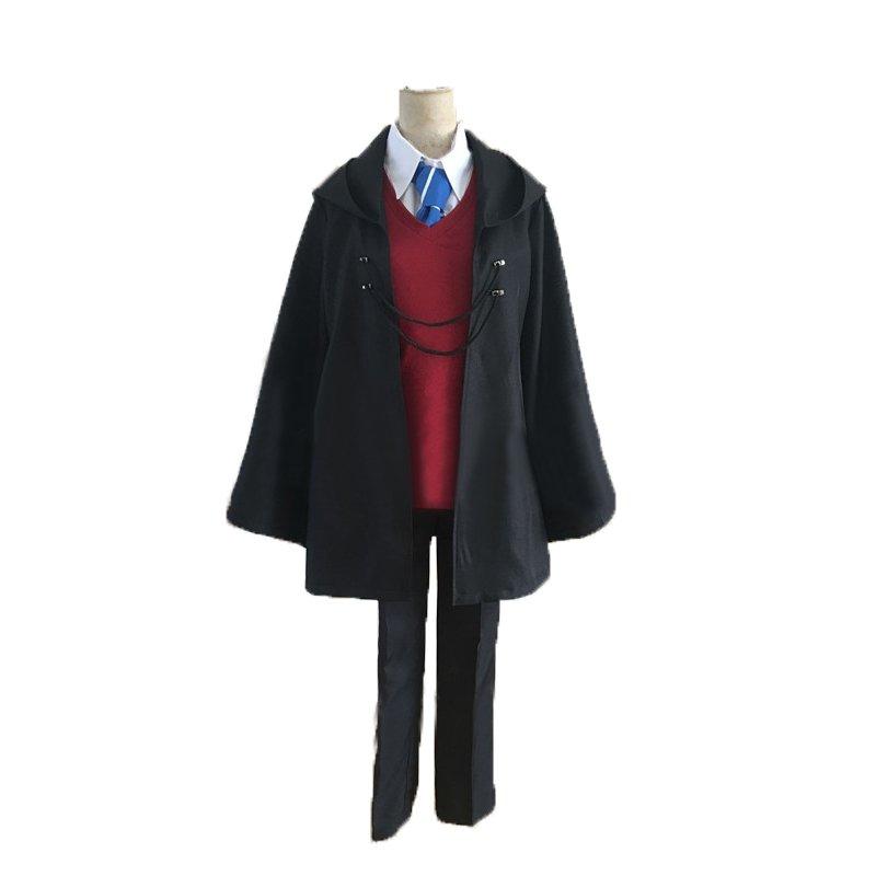 Free Shipping Fujimaru Ritsuka Fate grand order FGO  magic society cosplay costume 2