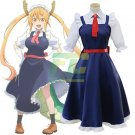 Free Shipping Tohru Cosplay Anime Miss Kobayashi's Dragon Maid Dress Cosplay Costume