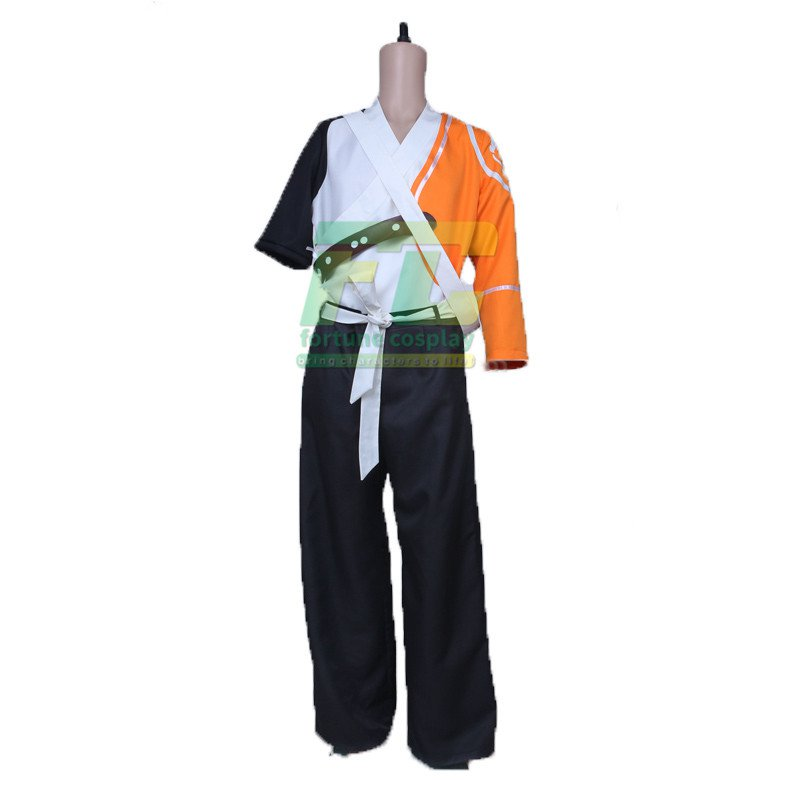 Free Shipping Hanzo youth Cosplay Costume Overwatch OW