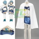 Free Shipping Puella Magi Madoka Magica Sayaka Miki Cosplay Costume