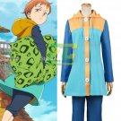 Free Shipping The Seven Deadly Sins King  Harlequin Cosplay Costume Sin of Sloth