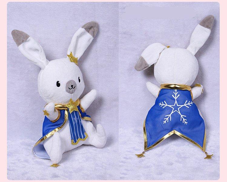 Free Shipping 2017 Snow Miku VOCALOID Hatsune Miku Rabbit Bunny Plush Doll Toy Cosplay