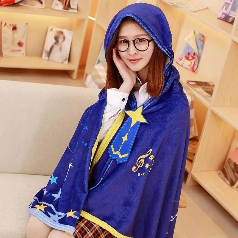 Free Shipping 2017 Snow Miku VOCALOID Hatsune Miku Dailywear Cosplay Cape