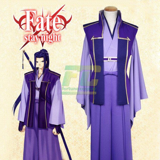 Free Shipping Fate Stay Night Sasaki Kojiro Kimono Cosplay Costume Custom Made