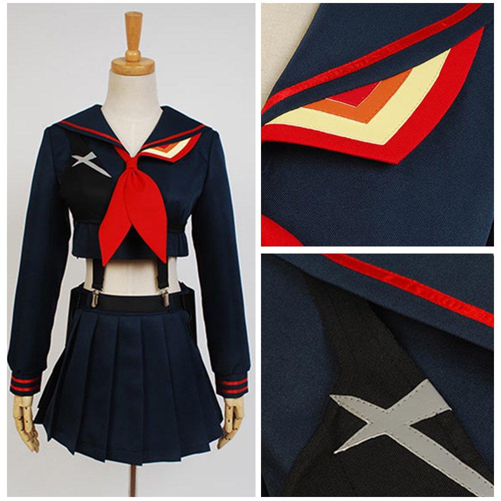 Free Shipping KILL la KILL Ryuko Matoi cosplay costume uniform dress