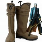 Free Shipping  Devil May Cry 3 Vergil Cosplay Costume Shoes Boots