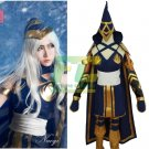 Free Shipping League of Legends Ashe Classic Skin Cosplay Costume Full Set For Custom Made