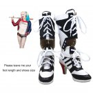 Free Shipping  Batman Suicide Squad Harley Quinn Boots Cosplay Costume Shoes