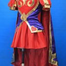 Free Shipping League of Legends Heartseeker Ashe Cosplay Costume Custom Made
