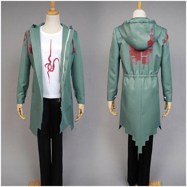 Free Shipping  Super Danganronpa 2 Komaeda Nagito Hoody Cosplay Costume Custom Made