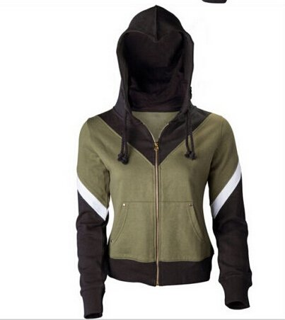 Free Shipping The Legend of Zelda Hoodie Jacket Sweatshirt Cosplay Costume