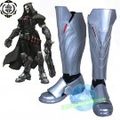 Amine Overwatch Reaper Boots cosplay shoes Halloween