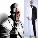Free Shipping Batman Harvey Dent aka Two-Face Comic Cosplay Costume Custom Made