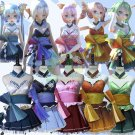 Free Shipping Vocaloid Miku Gumi Yowane Kimagure Mercy Otaku Odottemita Uniforms Cosplay Costume