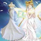 Free Shipping Sailor Moon Princess Serenity Dress Tsukino Usagi Cosplay Costume