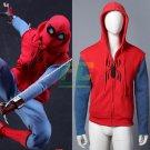 Free Shipping Spider-Man Spiderman Homecoming Peter Cosplay Costume Pullover Hoodies Sweatshirt