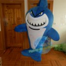Free Shipping Blue Shark Mascot Costume for Adult Halloween costume