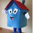 Free Shipping Blue House Mascot Costume for Adult Halloween costume