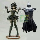 Free Shipping Female Edward Scissorhands Cosplay Costume Custom Made