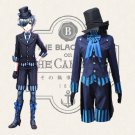 Free Shipping Ciel Black Butler Book of the Atlantic Cosplay Costumes Fancy Party Outfit