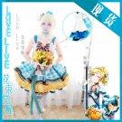 Free Shipping Lovelive!! Bouquet Hand Flower Awaken Eli Ayase cosplay costume Lolita Dress