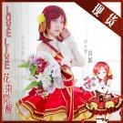 Free Shipping Lovelive!! Bouquet Hand Flower Awaken Maki Nishikino cosplay costume Lolita Dress