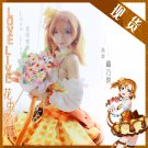 Free Shipping Lovelive!! Bouquet Hand Flower Awaken Honoka Kousaka cosplay costume Lolita Dress