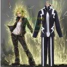 Free Shipping Boku no Hero Academia Denki Kaminari Cosplay Costume