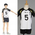 Free Shipping Fukurodani akaashi keiji Koutarou Team haikyuu Cosplay Costume Jersey Sports Wear