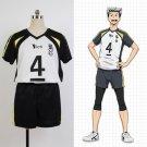 Free Shipping Haikyuu Fukurodani Academy Uniform Bokuto Koutarou Haikyuu Jersey Cosplay Costume