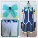 Free Shipping Dakimakura KonoSuba Akua Coat Skirt Dress Cosplay Costume Custom Made