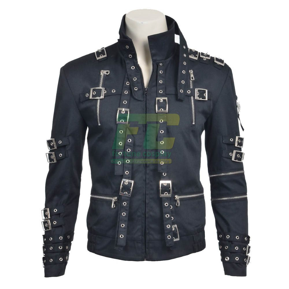 Free Shipping Michael Jackson Jacket Cosplay Costume Custom Made