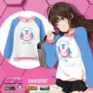 Free Shipping D.VA Cosplay Costume Sweater Overwatch OW DVA