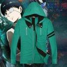 Free Shipping Tokyo Ghoul Kaneki Ken Cosplay Costume Jackets Hoodie Coat Hooded Sweatershirts