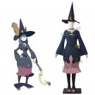 Free Shipping Little Witch Academia Cosplay Costume Ashura sensei Halloween Custom Made